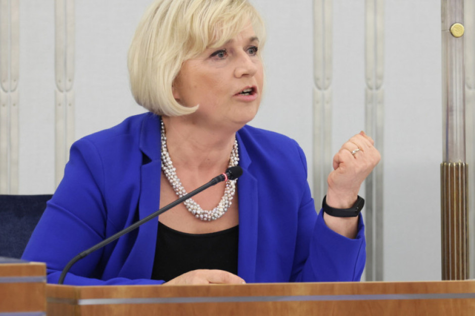 Senat nie wyraził zgody na powołanie Lidii Staroń na urząd Rzecznika Praw Obywatelskich