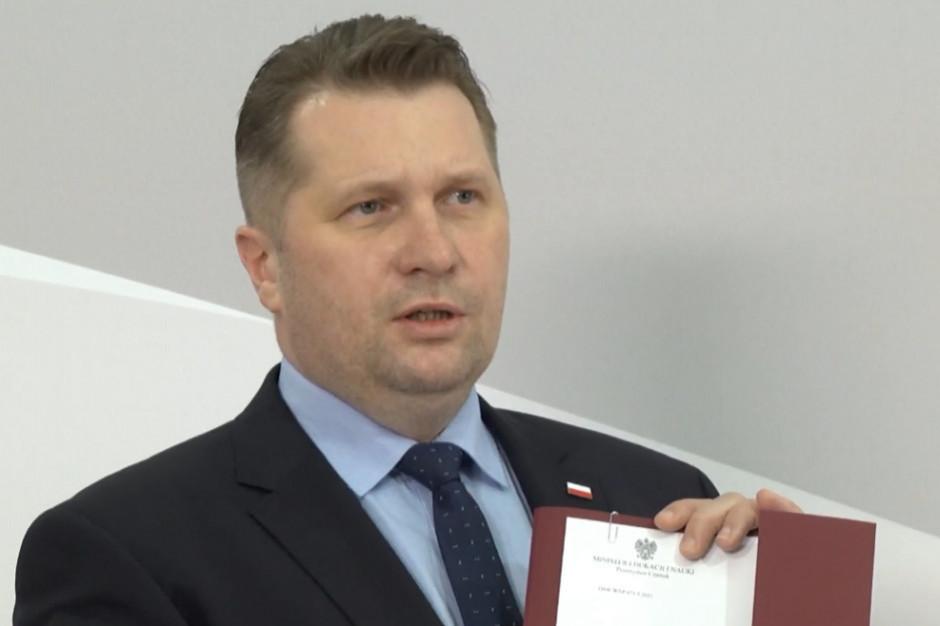 Przemysław Czarnek: polska szkoła jest nieco poraniona zdalną nauką