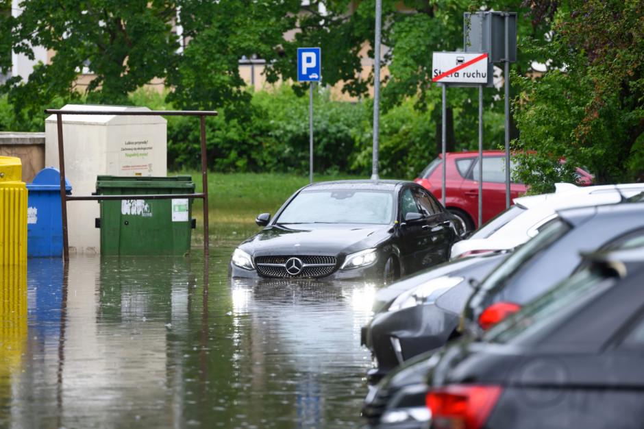 Poznań pod wodą. Zdjęcia z zalanego miasta