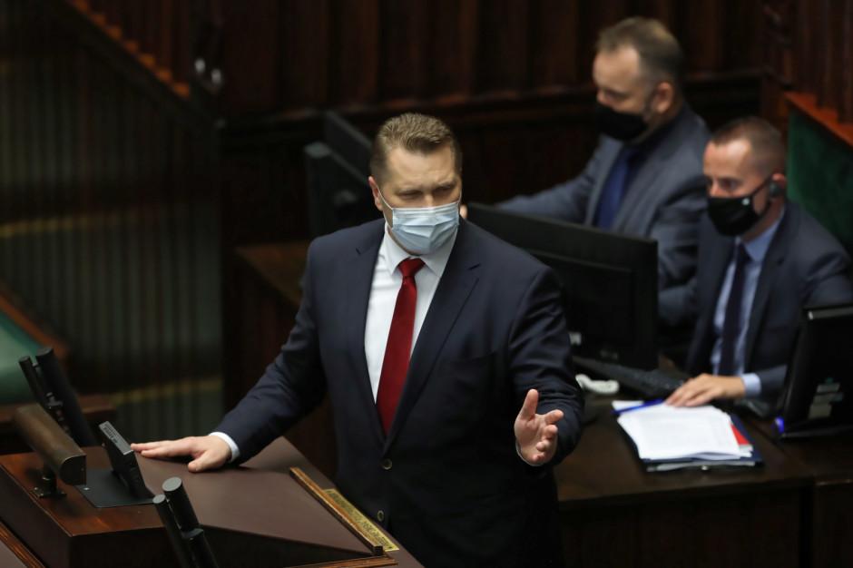 W Sejmie jest wniosek o odwołanie ministra edukacji