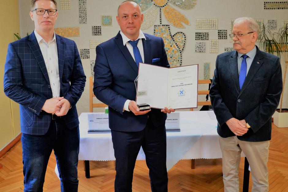 Miejskie Przedsiębiorstwo Gospodarki Lokalowej w Świętochłowicach z prestiżowym certyfikatem