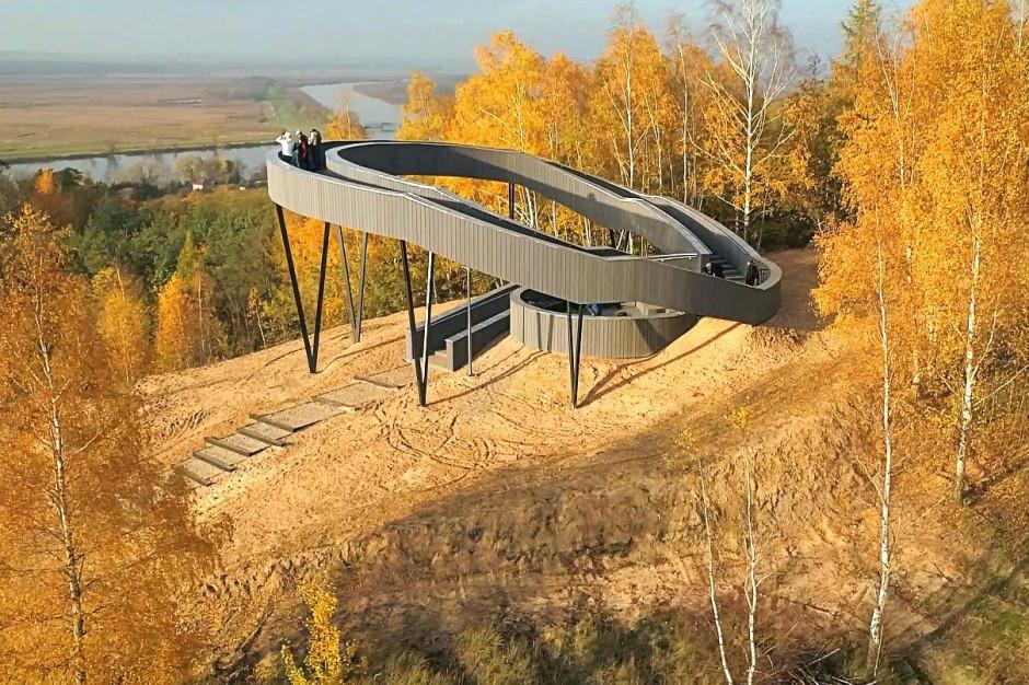 Platforma widokowa w Widuchowej. Nowa atrakcja dla turystów na Pomorzu Zachodnim