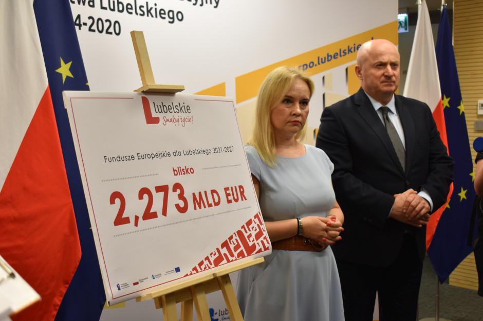 Prawie 2,3 mld euro z UE na lata 2021-2027 dla lubelskiego