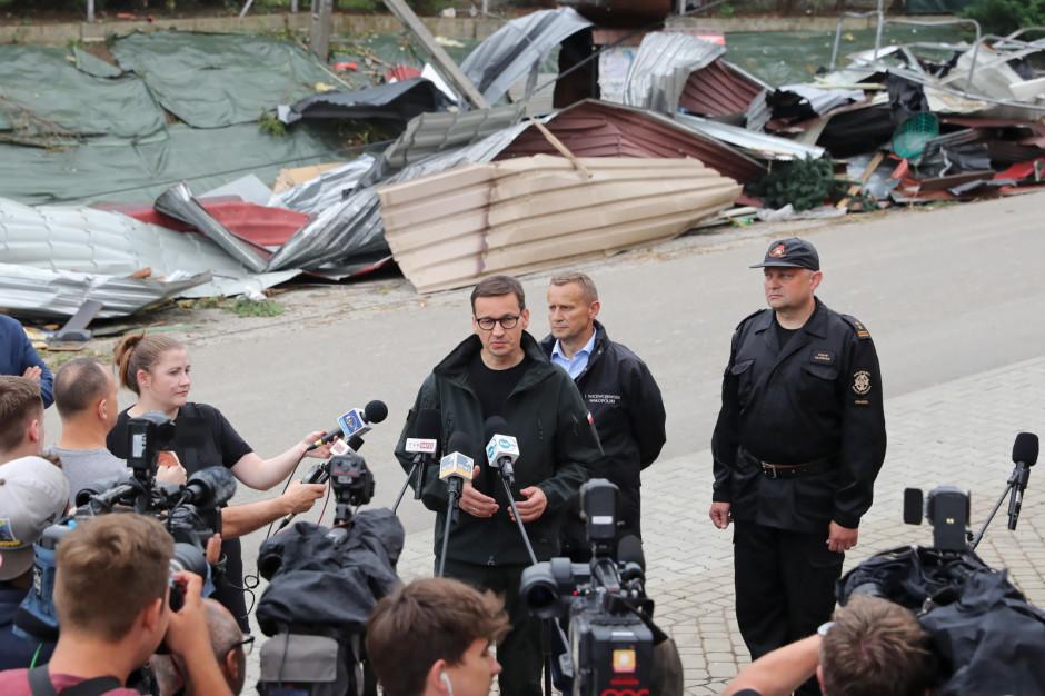 Premier w Librantowej: będzie pomoc - do 100 tys. lub 200 tys. zł w zależności o strat