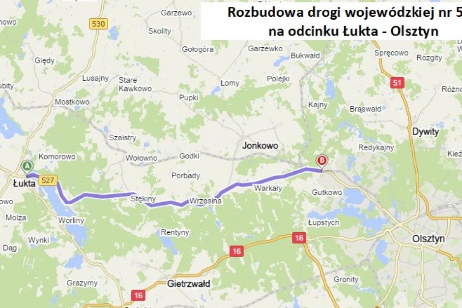 Będzie remont drogi Olsztyn-Łukta