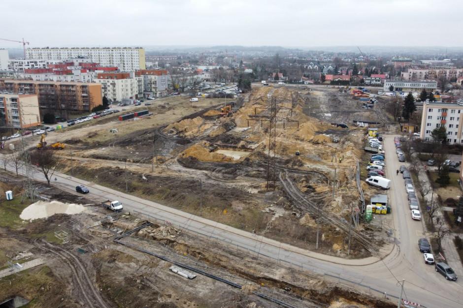 Krakowski szybki tramwaj na Górkę Narodową. Raport z placu budowy