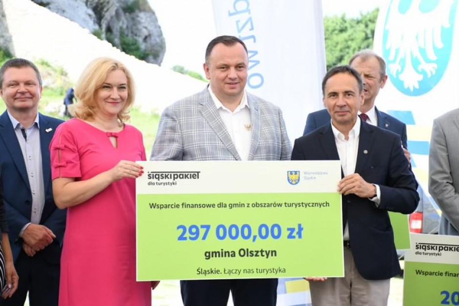 Dwa miliony złotych wsparcia dla jurajskich gmin turystycznych