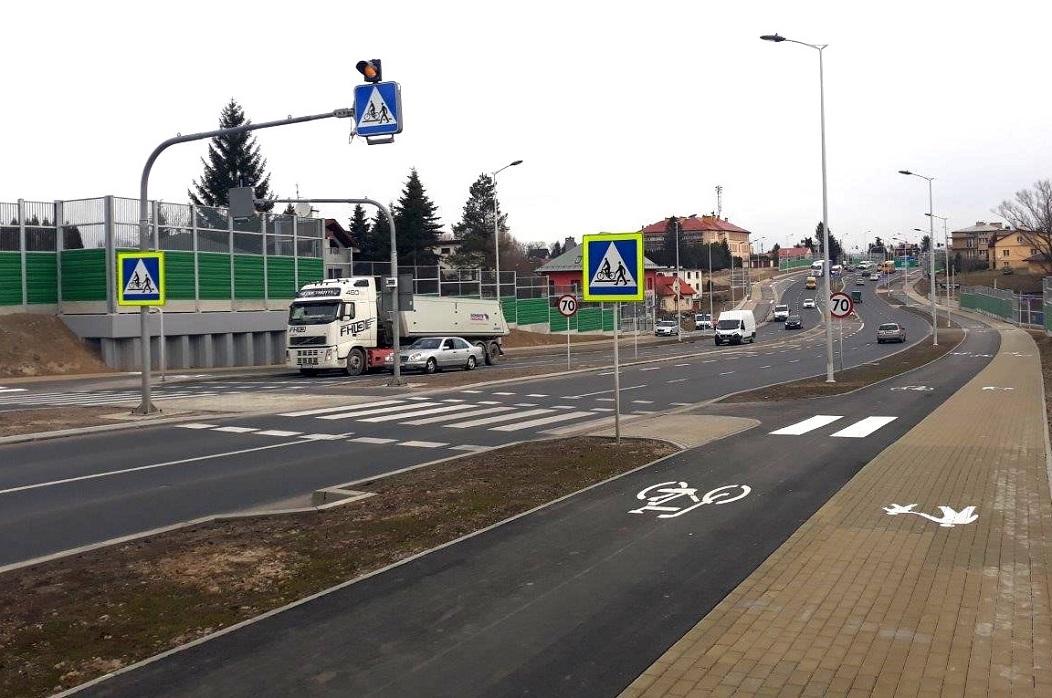 Rozbudowa DK 19 w Rzeszowie na odcinku od skrzyżowania ul. Podkarpackiej z ul. 9 Dywizji Piechoty do granicy miasta (Fot. MZD Rzeszów).jpg