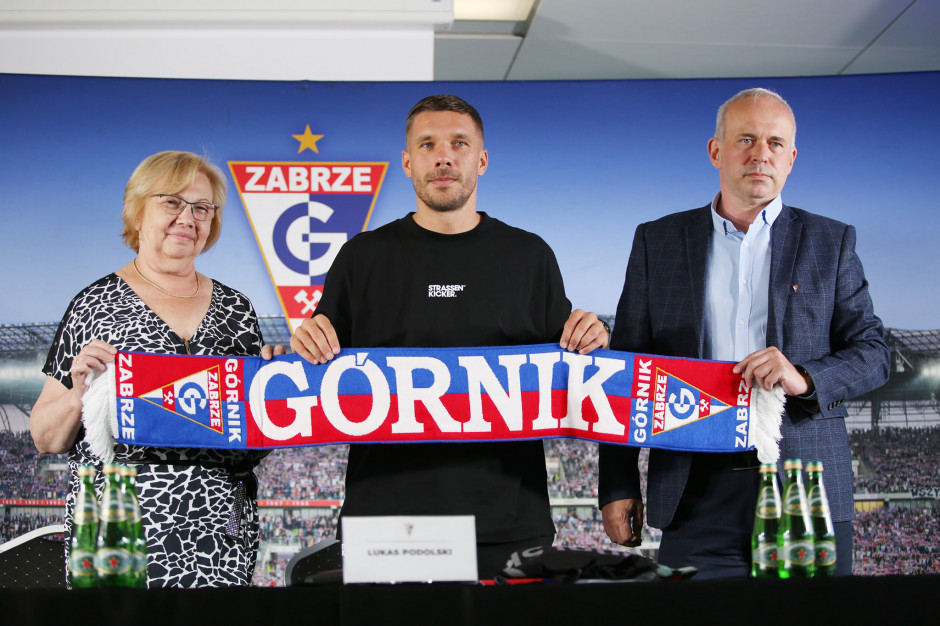 Lukas Podolski ma plan na siebie w Zabrzu. Nie tylko sportowy