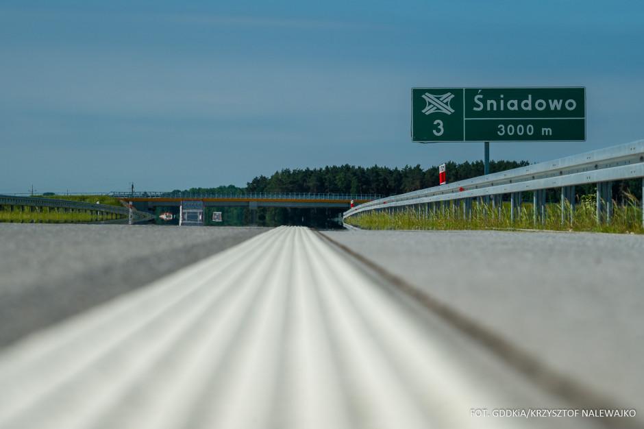 Nowy odcinek Via Baltica otwarty dla kierowców.  Dwa następne jeszcze w lipcu