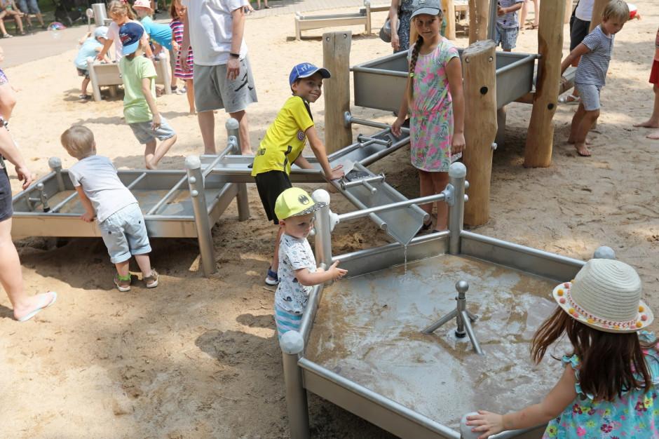 W Białymstoku otwarto pierwszy wodny plac zabaw dla dzieci