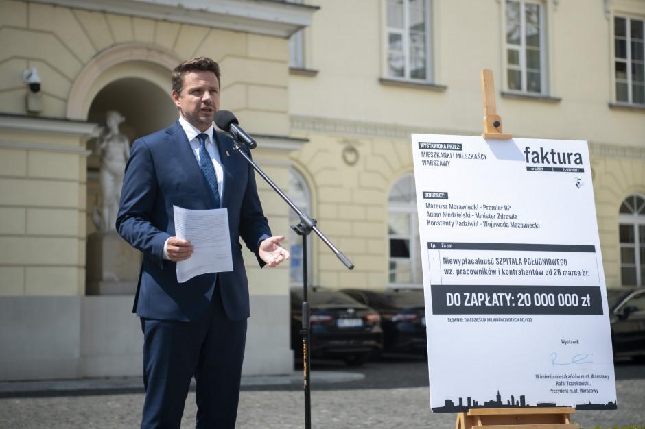 Warszawa domaga się zwrotu Szpitala Południowego