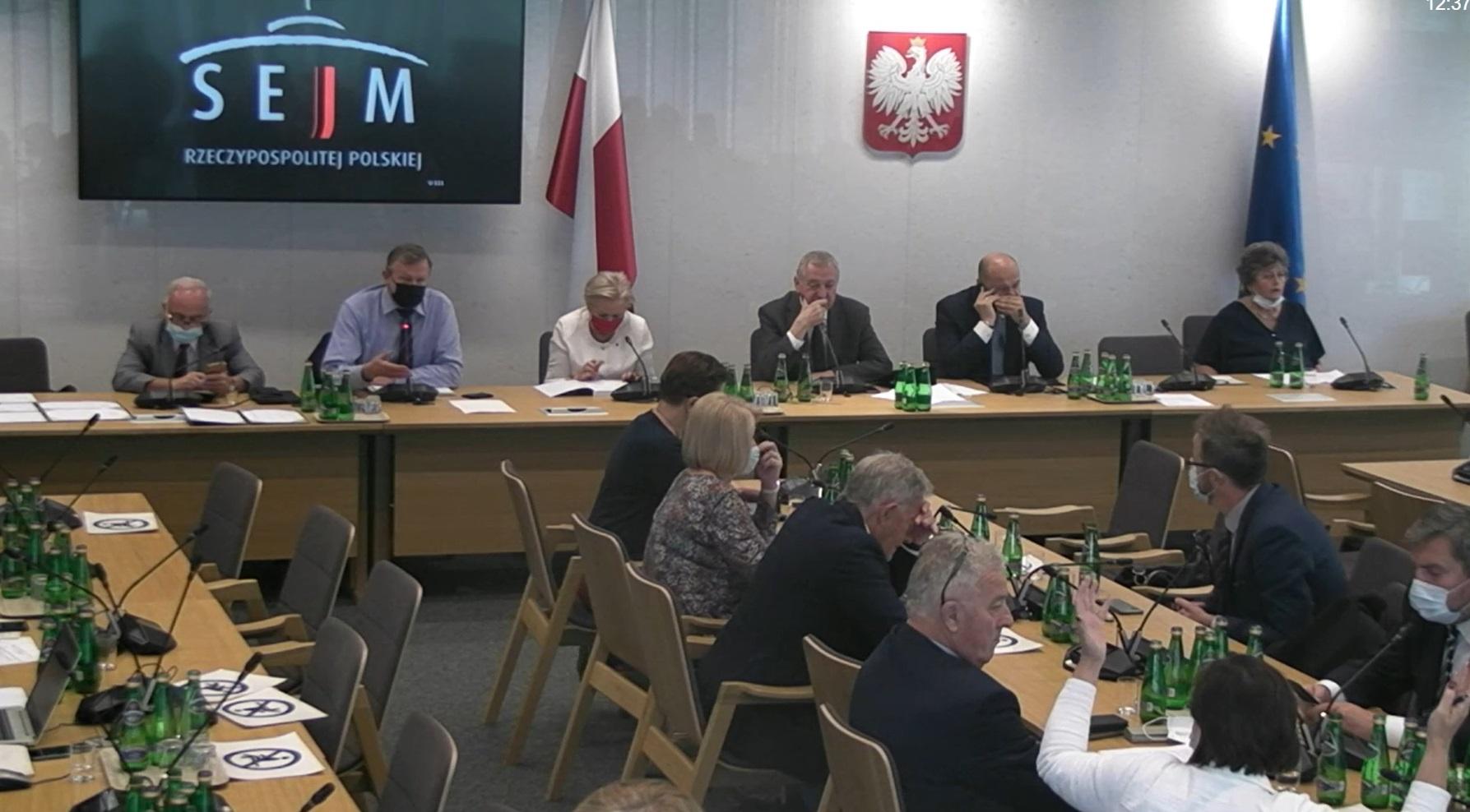 Burzliwa dyskusja na temat KPO podczas środowego posiedzenia sejmowej Komisji Finansów Publicznych trwała 2 godziny (Fot. sejm.gov.pl)