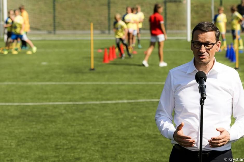 Mateusz Morawiecki: chcemy, by każda gmina i powiat miały obiekty sportowe na wyższym poziomie