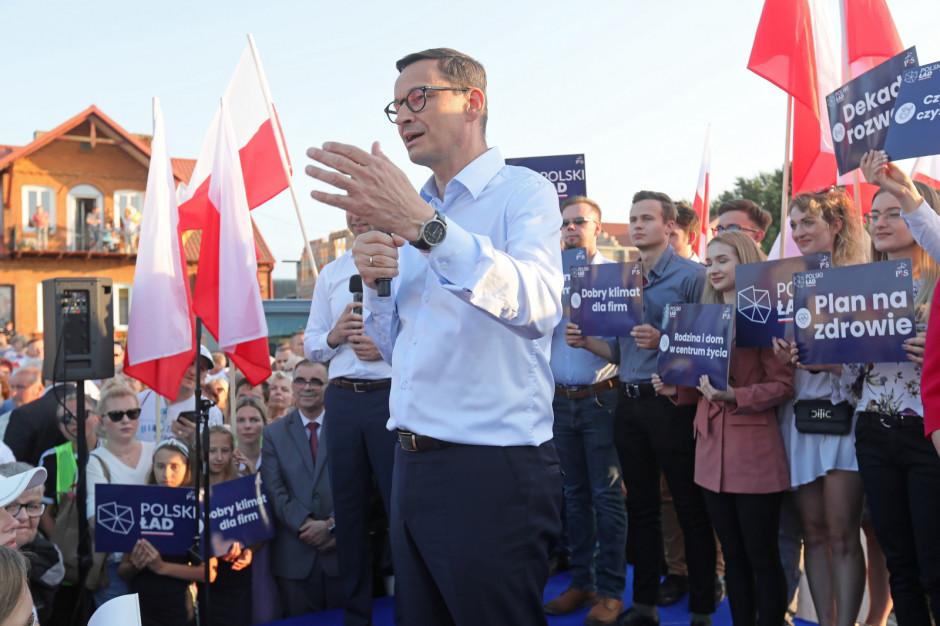 Mateusz Morawiecki: Polski Ład zaczyna się w Tykocinie