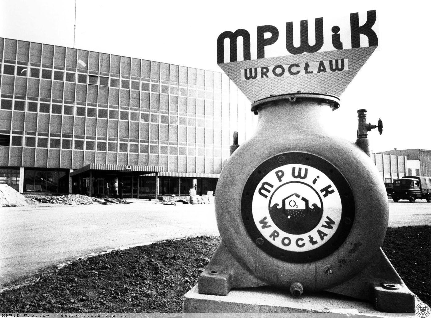 Otwarcie Zakładu Produkcji Wody Mokry Dwór 1982 r. Fot. mat. MPWiK Wrocław