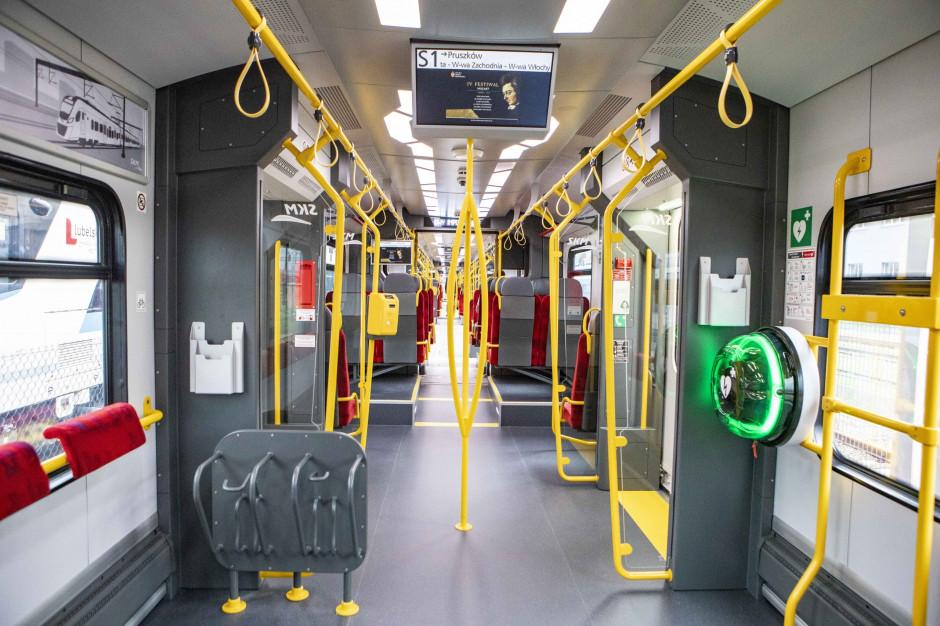 Pociągi Impuls 2 dla Szybkiej Kolei Miejskiej pojadą w podwójnym zestawieniu
