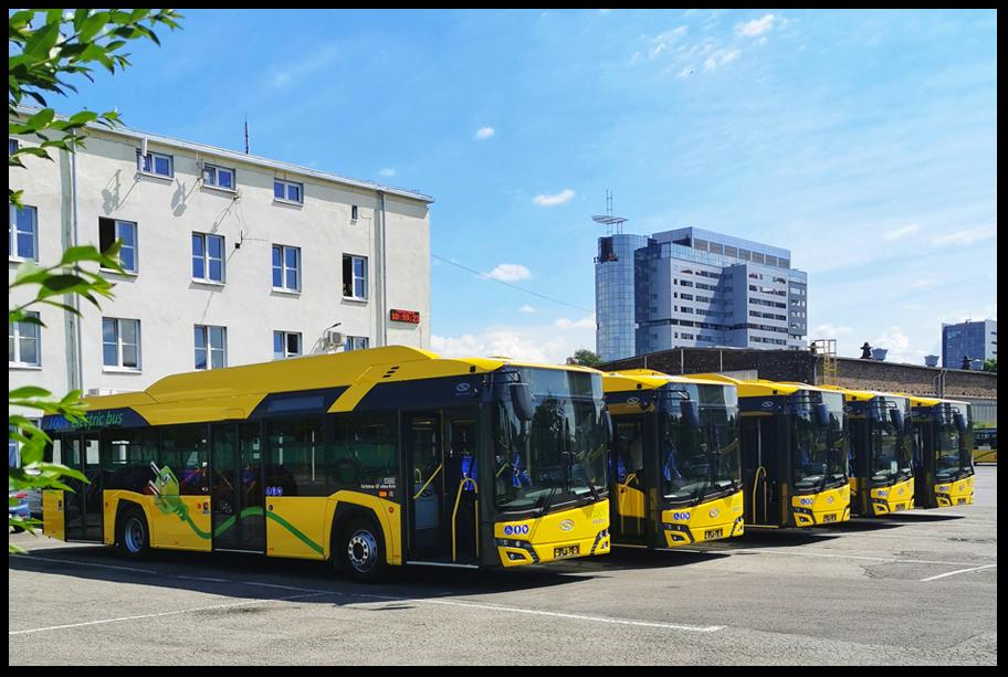 """20 lipca PKM Katowice ogłosiło przetarg na """"świadczenie usług kierowania autobusami komunikacji miejskiej należącymi do PKM Katowice Sp. z o.o"""" (Fot. PKM Katowice)"""
