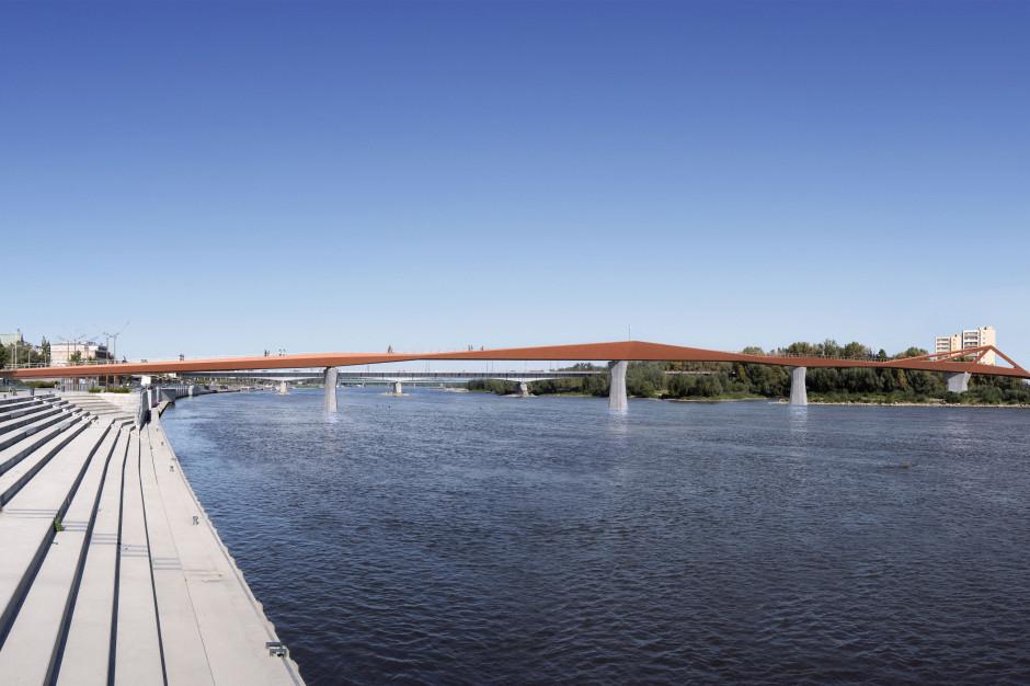 Nowy most w Warszawie. Ale nie dla samochodów
