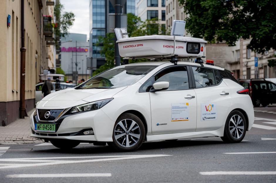 Warszawa zwiększy liczbę samochodów do e-kontroli płatnego parkowania