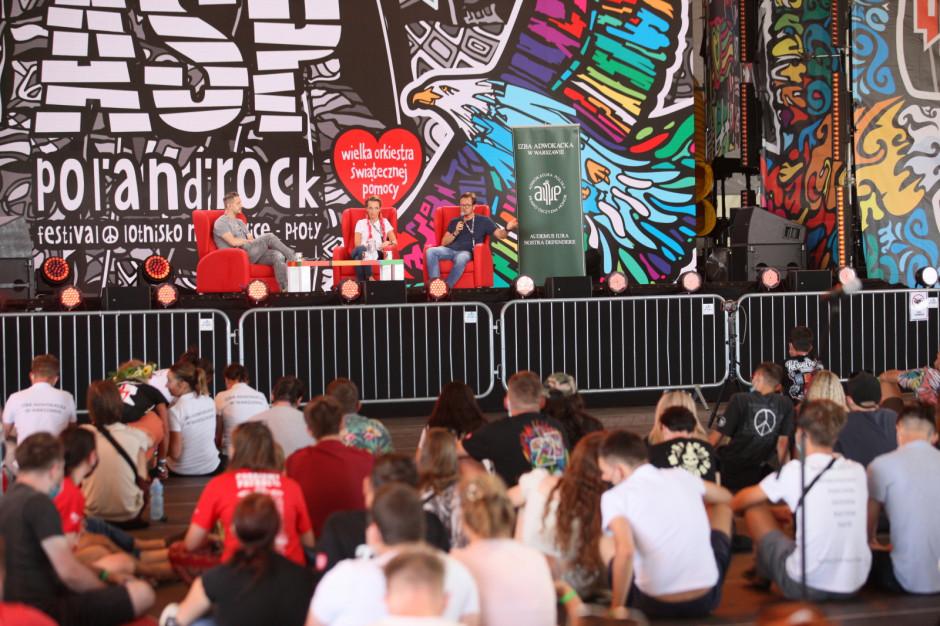 12,5 tys. osób na 27. festiwalu Pol'and'Rock [ZDJĘCIA]