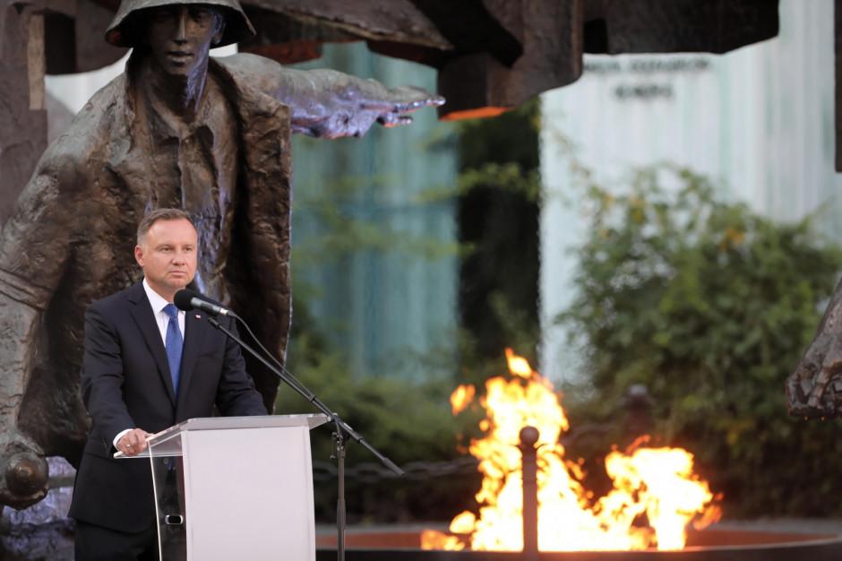 Prezydent o Powstaniu Warszawskim: tego się nie dało zatrzymać, nie było innego wyjścia