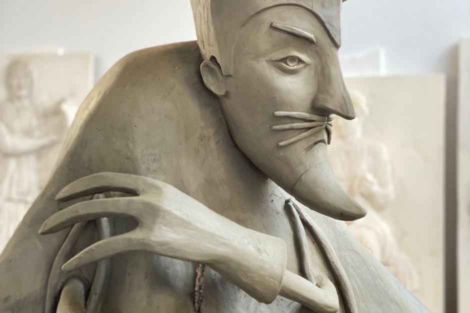 Pomnik Don Pedro, popularnej postaci z kreskówki, stanie w Bielsku-Białej