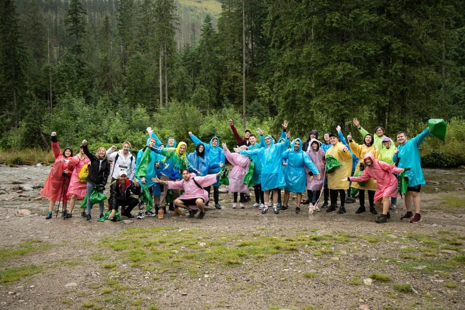 Wolontariusze zbierali śmieci w Tatrach