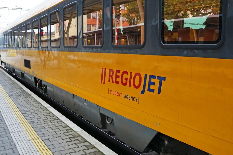 Czeski przewoźnik kolejowy RegioJet planuje uruchomienie połączeń Kraków-Gdynia