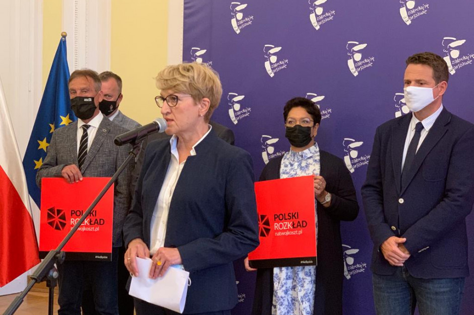 """Samorządowe organizacje przeciw """"Polskiemu Ładowi"""". Chodzi o 150 mld zł"""
