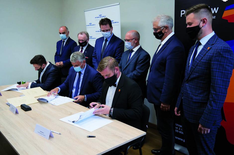 Dodatkowa przeprawa nad torami w Pruszkowie. Umowa na inwestycję podpisana