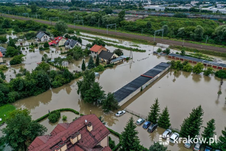 Kraków czeka na zbiorniki retencyjne. Po kolejnych ulewach znów podtopienia