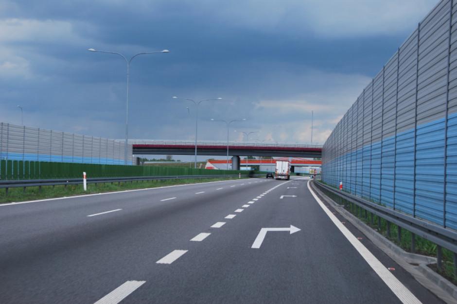 Utrudnienia na budowanej autostradzie A1