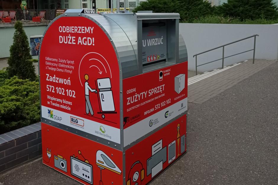 Czerwone pojemniki na elektroodpady zadebiutują w GOAP