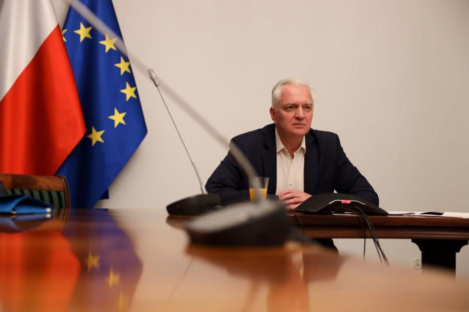 Jarosław Gowin: zgłosimy własne propozycje dla samorządów