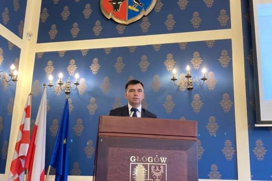 Prezydent Głogowa: Sposób finansowania samorządów musi się zmienić. To równia pochyła
