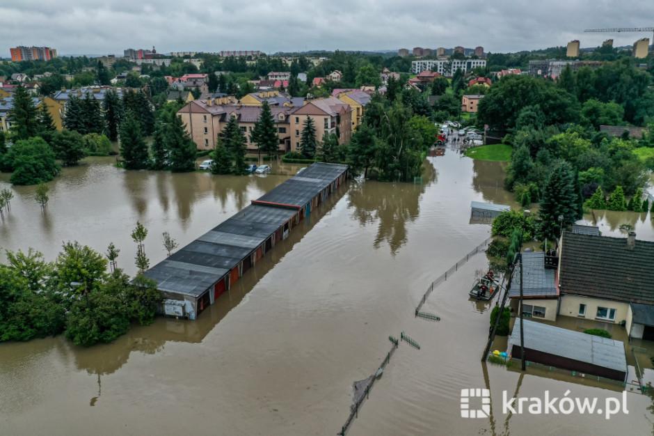 Prezydent Krakowa powołał zespół ds. przeciwdziałania następstwom nawalnych deszczów