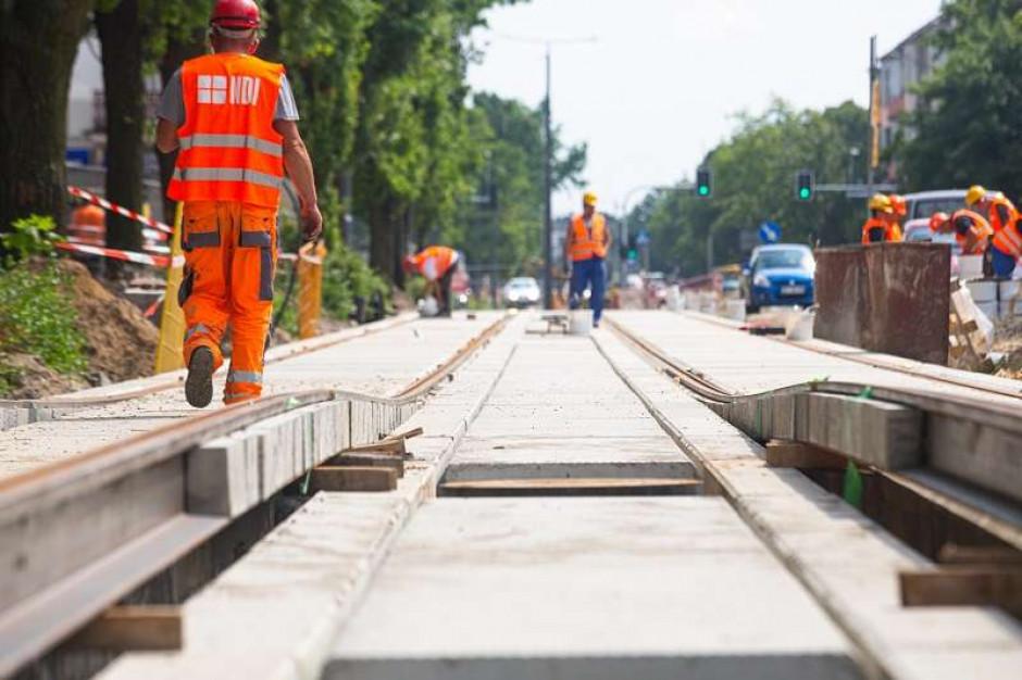 Przejazd linią tramwajową w Częstochowie już we wrześniu