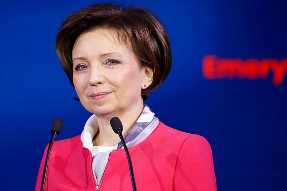 Zmiany szyldów w resortach. Dział pracy wraca pod skrzydła minister Maląg