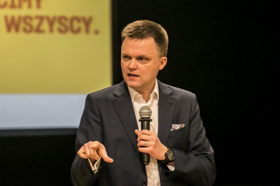 Szymon Hołownia: chcemy ocalić polskie samorządy