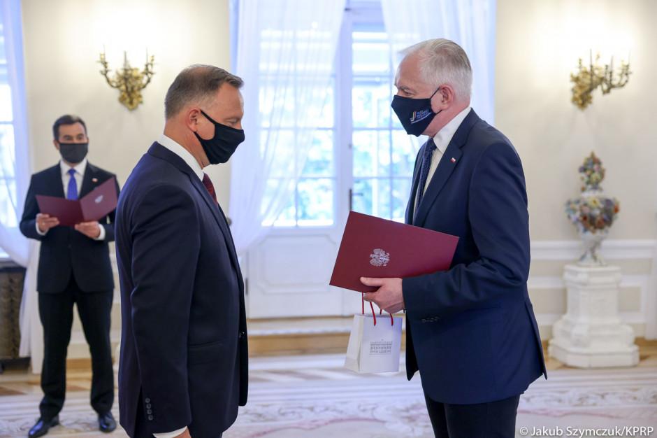 Mocne słowa prezydenta do zdymisjonowanego Jarosława Gowina