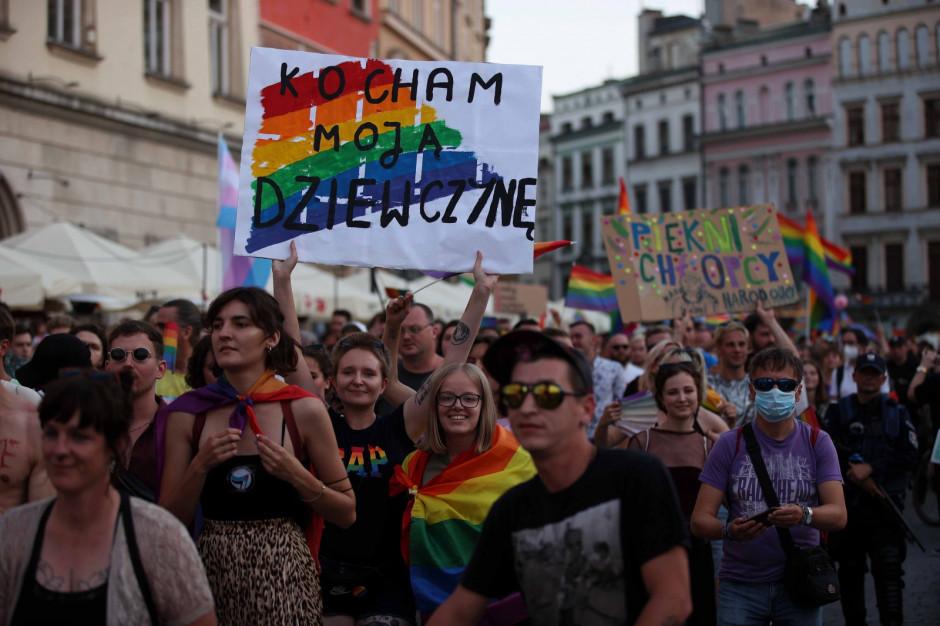 Kilka tysięcy osób przeszło ulicami Krakowa w Marszu Równości