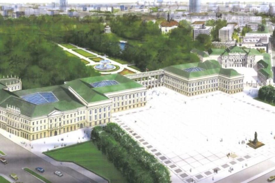 Ustawa o odbudowie Pałacu Saskiego podpisana. Prezydent: to dawno powinno nastąpić
