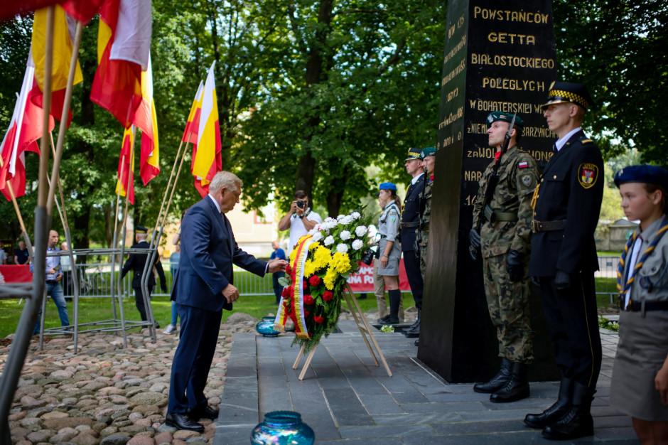 Obchody 78. rocznicy powstania w białostockim getcie