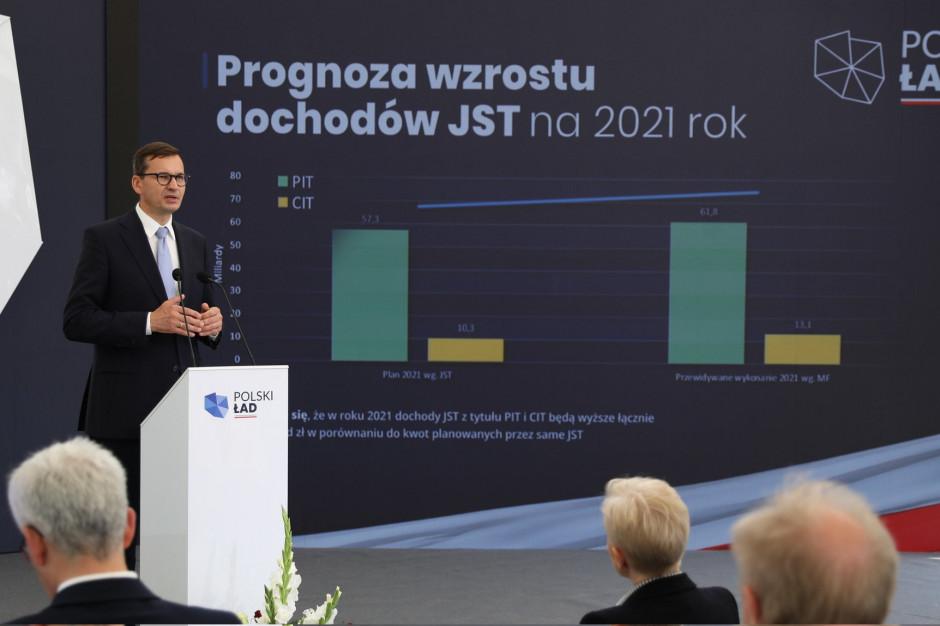 Dodatkowa subwencja dla samorządów. Premier przedstawił szczegóły Samorządowego Polskiego Ład