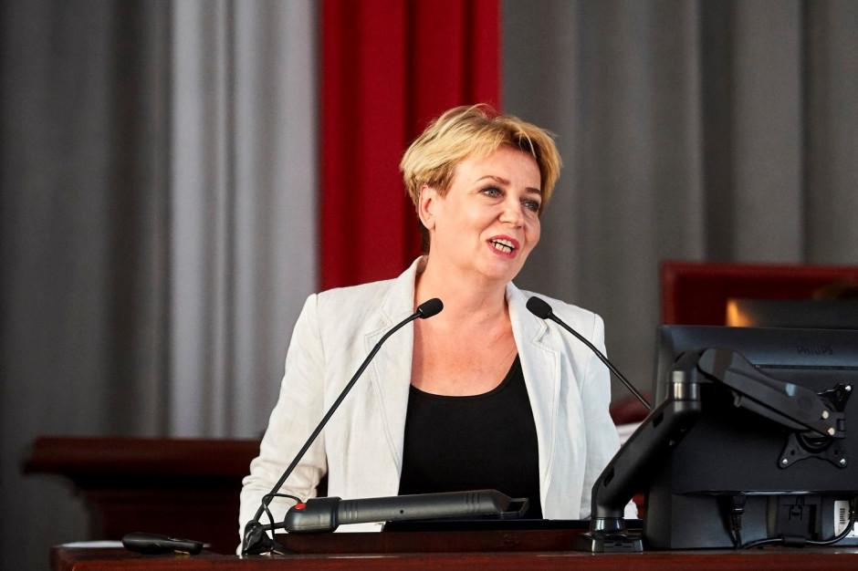 Prezydent Hanna Zdanowska może być szantażowana?