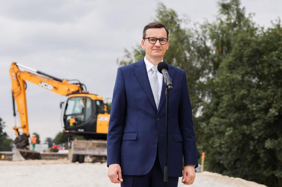 Premier: Dzięki inwestycjom z Polskiego Ładu nie będzie już Polski A i Polski B