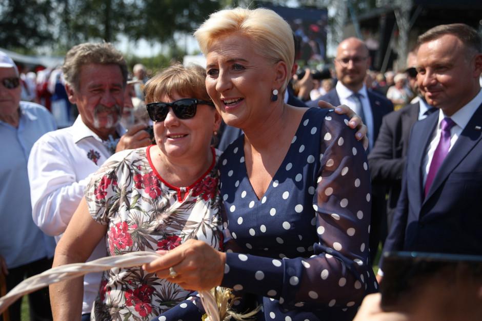 Prezydentowa: Koła Gospodyń Wiejskich to polski fenomen