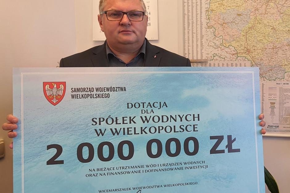 Samorząd Wielkopolski wesprze spółki wodne. Pomoc dla 123 podmiotów