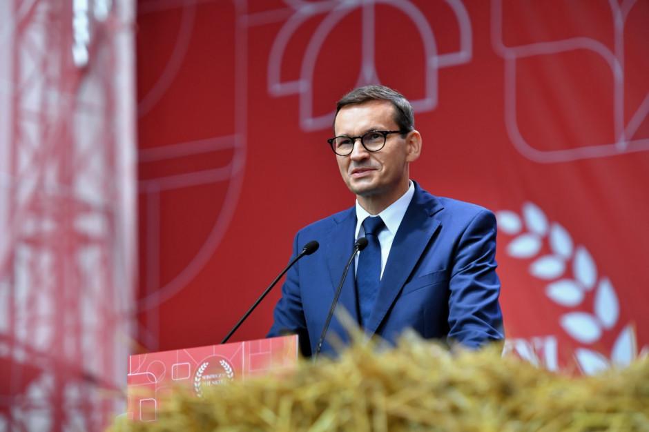 Mateusz Morawiecki zapowiedział finansowe wsparcie dla polskiej wsi